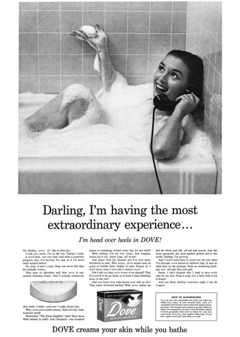 David Ogilvy Dove soap classic advertisement