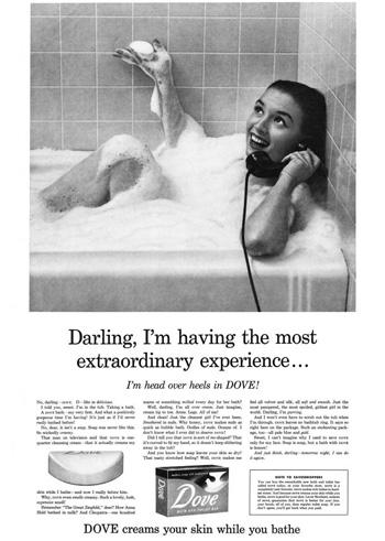 David Ogilvy Dove soap classic advertisement