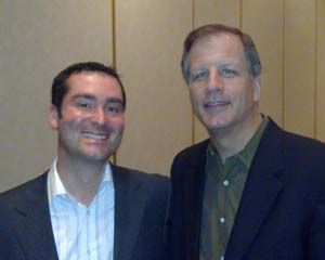 Mark Fregnan with David Frey