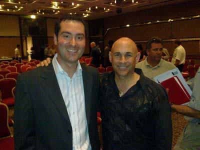Mark Fregnan with Jordan Adler